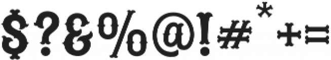 Blastrick Special Inline otf (400) Font OTHER CHARS