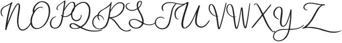 Blasty otf (400) Font UPPERCASE