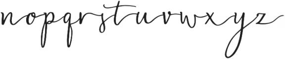 Blasty otf (400) Font LOWERCASE