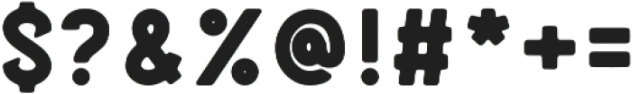 Blatchford Bold otf (700) Font OTHER CHARS