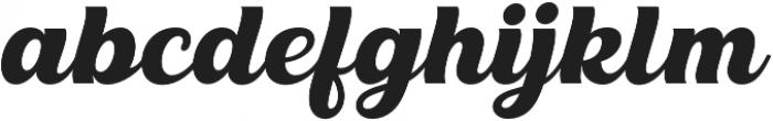 Blauer otf (400) Font LOWERCASE