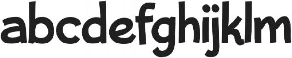 Bleeker Regular otf (400) Font LOWERCASE