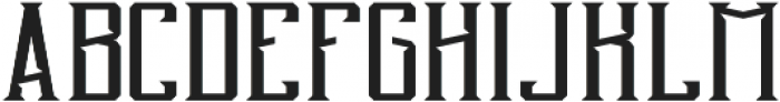BlendedWhisky Regular otf (400) Font UPPERCASE