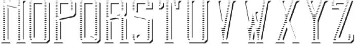 BlendedWhisky TexShd FX otf (400) Font UPPERCASE