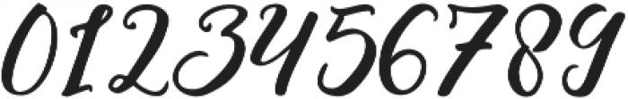 Blessing Regular otf (400) Font OTHER CHARS