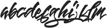 Blinded alt otf (400) Font LOWERCASE