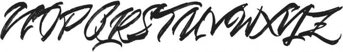 Blinded otf (400) Font UPPERCASE