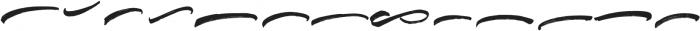 Blinded swash otf (400) Font LOWERCASE