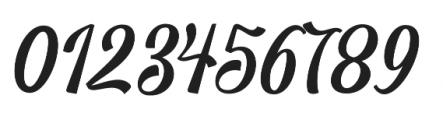 Blington  Regular otf (400) Font OTHER CHARS