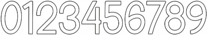 Blinkstar Sans Outline Regular otf (400) Font OTHER CHARS