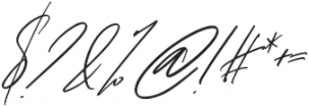 Bliss Script Stylist 2 otf (400) Font OTHER CHARS