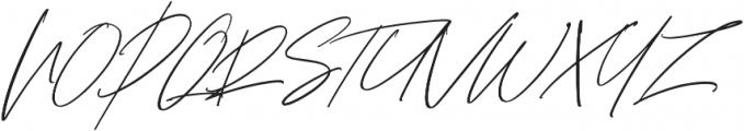 Bliss Script Stylist 2 otf (400) Font UPPERCASE