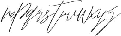 Bliss Script Stylist 2 otf (400) Font LOWERCASE