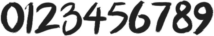Bllody Rainan otf (400) Font OTHER CHARS