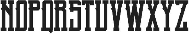 Blnc Regular otf (400) Font LOWERCASE