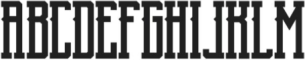 Blnc Regular ttf (400) Font UPPERCASE
