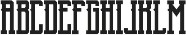 Blnc Regular ttf (400) Font LOWERCASE