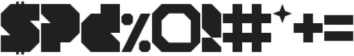 Blob Square otf (400) Font OTHER CHARS
