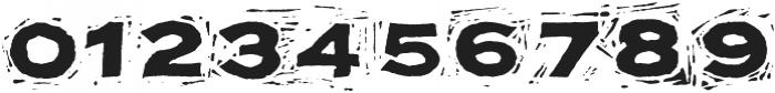 Block Print ttf (400) Font OTHER CHARS