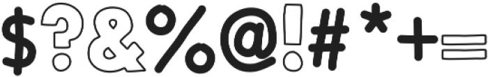 BlockFont ttf (400) Font OTHER CHARS