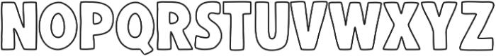 BlockFont ttf (400) Font UPPERCASE