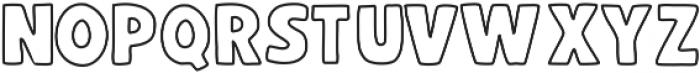 BlockFont ttf (400) Font LOWERCASE