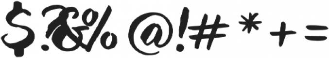 Blockletter otf (400) Font OTHER CHARS