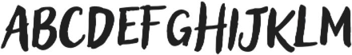 Blockletter otf (400) Font LOWERCASE