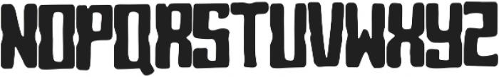 Blocky otf (400) Font UPPERCASE