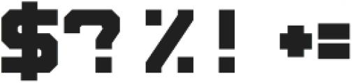 Blok Alt otf (400) Font OTHER CHARS
