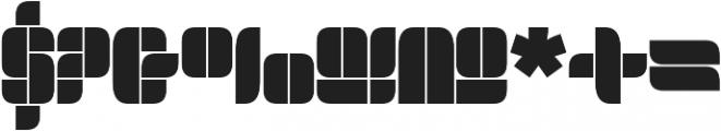 Bloket Pro Regular ttf (400) Font OTHER CHARS