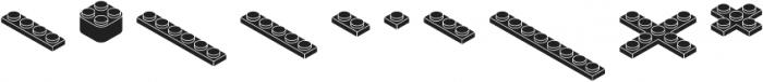 Bloky Black Regular otf (900) Font OTHER CHARS