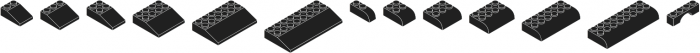 Bloky Black Regular otf (900) Font UPPERCASE