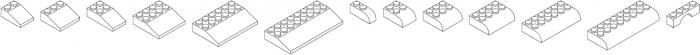 Bloky White Regular otf (400) Font UPPERCASE