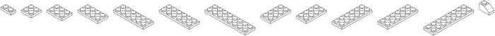 Bloky White Regular otf (400) Font LOWERCASE