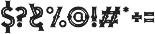 Blombanc Inline otf (400) Font OTHER CHARS