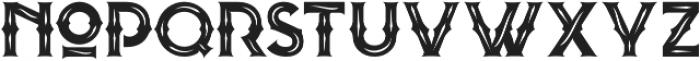 Blombanc Inline otf (400) Font LOWERCASE