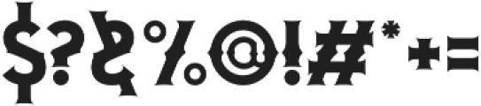 Blombanc otf (400) Font OTHER CHARS