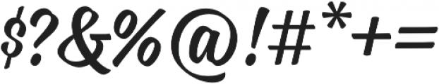 Blonde Script otf (400) Font OTHER CHARS