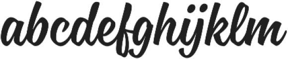 Blonde Script otf (400) Font LOWERCASE