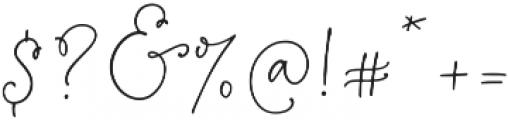 BloomPretty Regular ttf (400) Font OTHER CHARS