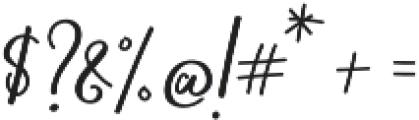 Blooming Elegant Sans otf (400) Font OTHER CHARS