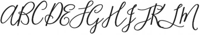 Blooming Elegant Sans otf (400) Font UPPERCASE
