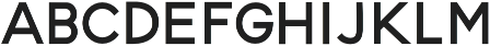 Blooming Elegant Sans otf (700) Font UPPERCASE