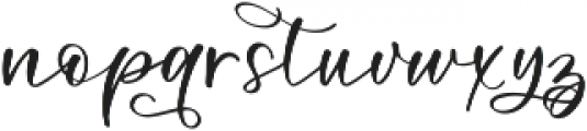 Blooming Heirloom Symbols ttf (400) Font LOWERCASE