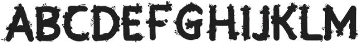 Blooming Regular otf (400) Font UPPERCASE