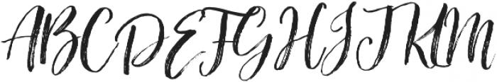 Bloomishly Broad otf (400) Font UPPERCASE