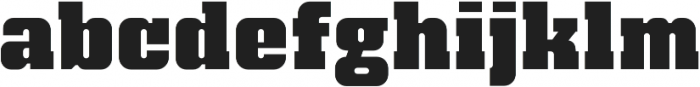 Bloque Layer 1 otf (400) Font LOWERCASE