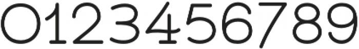 Bloser Serif Bold otf (700) Font OTHER CHARS