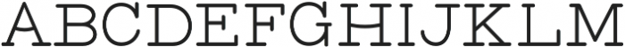 Bloser Serif Bold otf (700) Font LOWERCASE